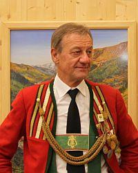 8. und 12. Kapellmeister in Schmirn - Ehrenkpm. Oswald Mader (Mesner)